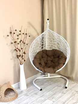 Плетеная мебель - Подвесное кресло кокон, 0