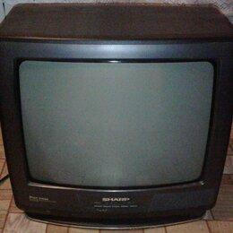 "Телевизоры - Цветной ЭЛТ телевизор Sharp CV-1496RU 14"", 0"