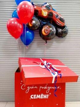 Воздушные шары - Коробка с шарами, 0
