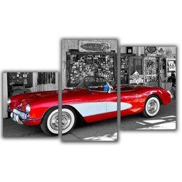 Раскраски и роспись - Мини модульная картина Красная машина Toplight…, 0