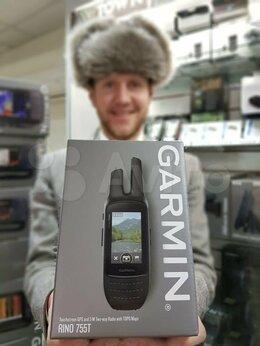 GPS-навигаторы - Garmin Rino 755T навигатор рация, 0