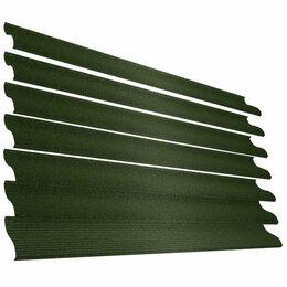 Заборы, ворота и элементы - Ламель Еврожалюзи RAL6005 Зеленый Мох СтальнойБархат, 0
