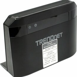 Оборудование Wi-Fi и Bluetooth - Trendnet TEW-810DR Роутер WiFi, 0