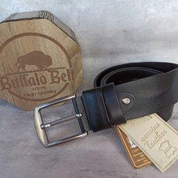 Ремни и пояса - Мужской ремень из натуральной кожи буйвола , 0