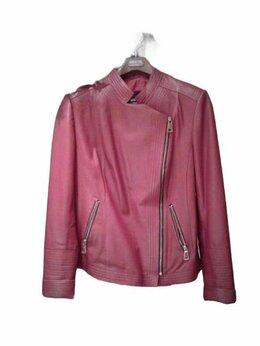 Куртки - Красная кожаная косуха от LA reine blanche, 0