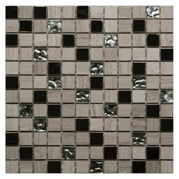 Мозаика - Мозайка LINEN WOOD 300*300*8мм  1/11, 0