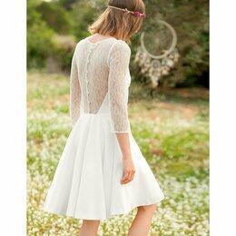 Платья - Нежное свадебное платье (Франция), 0