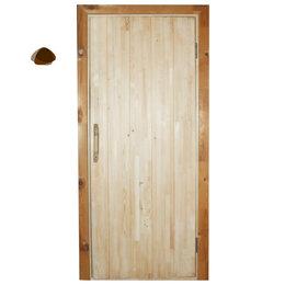 Строительные блоки - Дверной блок банный (шип паз с/с), 0