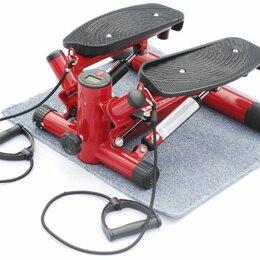 Эспандеры и кистевые тренажеры - Министеппер поворотный с эспандерами, красный, 0