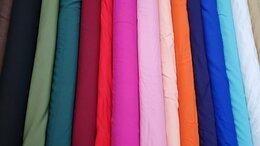 Рукоделие, поделки и товары для них - Ткань штапель вискоза разные цвета, 0