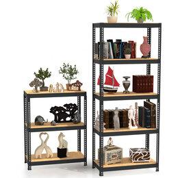 Мебель для учреждений - Стеллаж металлический МZ-PROFIL180х120х45-5полок, 0