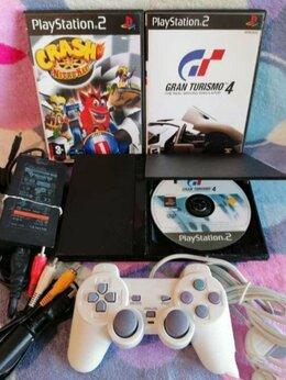 Игровые приставки - Приставка Sony PlayStation 2 игры, 0