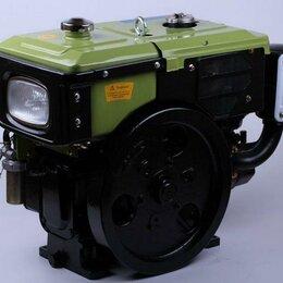 Двигатели - Дизельный двигатель 8 л.с. Зубр/Скаут SH180NL, 0