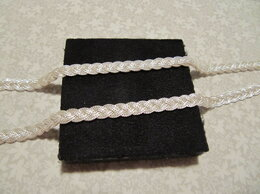 Цепи - Серебряная цепочка-косичка, 0