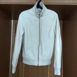 Куртки - Куртка из экокожи . Цвет белый. Размер 44, 0