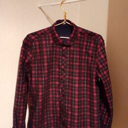 Рубашки - рубашка мужская утепленная новая, 0