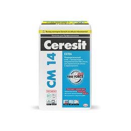 Строительные смеси и сыпучие материалы - Клей CM 14 Extra для плитки и керамогранита Церезит Чебоксары, 0