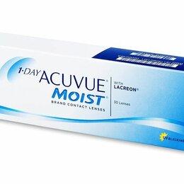 Устройства, приборы и аксессуары для здоровья - Однодневные контактные линзы Acuvue Moist 1 DAY (30 линз), 0