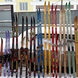 Беговые лыжи - Лыжи беговые деревянные, 0
