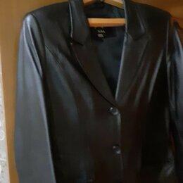 Куртки - Кожанная куртка, 0