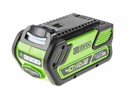Аккумуляторы и зарядные устройства - Аккумулятор GreenWorks G40B4, 0