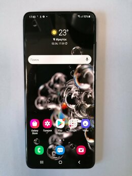 Мобильные телефоны - Телефон Samsung S20+. G985F, 128GB, 0