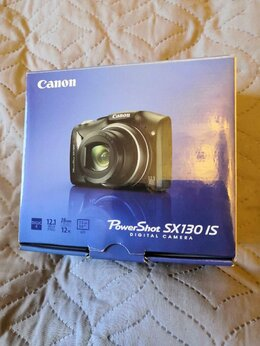 Фотоаппараты - Canon PowerShot SX130 IS, 0