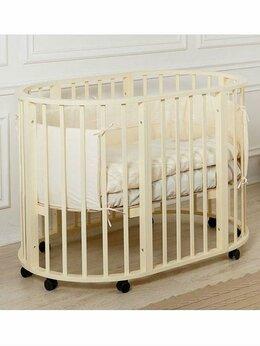 Кроватки - Кровать Incanto Gio 3 в 1 колеса (Слоновая кость), 0
