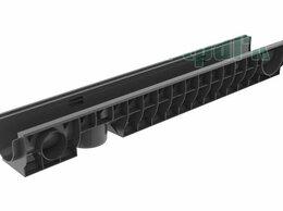 Водопроводные трубы и фитинги - Лоток водоотводный PolyMax Basic пластиковый…, 0