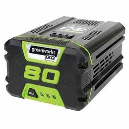 Баки - Аккумулятор GreenWorks G80B2, 80V, 2 А.ч, 0