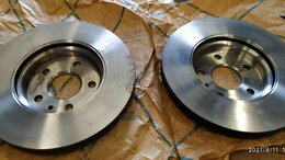 Тормозная система  - тормозные диски TRW DF7475, 0