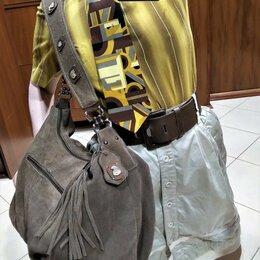 Сумки - 🔴 D&G by Dolce & Gabbana Италия сумка натуральная замша, 0
