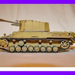 Сборные модели - 1/35 модель танка 105 мм САУ Гешутцваген III/IV с гаубицей (leFH) обр 18/40, 0