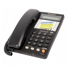 Проводные телефоны - Новый Телефон Panasonic KX-TS2365RU, 0