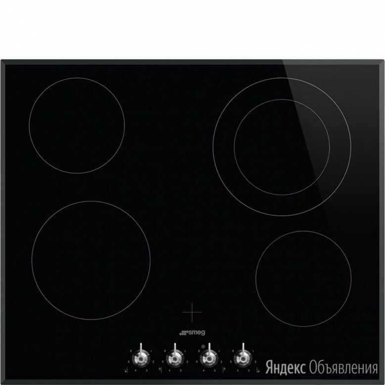 SMEG SE364ETBM по цене 61290₽ - Плиты и варочные панели, фото 0