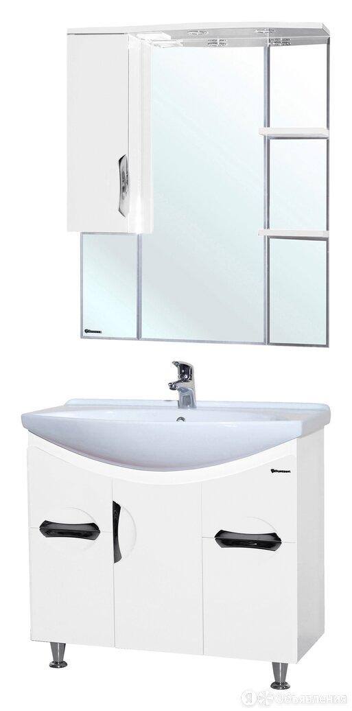 Мебель для ванной Bellezza Лагуна 85 белая по цене 32427₽ - Полки, шкафчики, этажерки, фото 0
