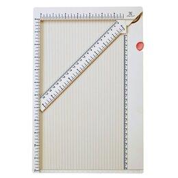 """Скрапбукинг - Доска для биговки многофункциональная """"Рукоделие"""" (34,4x23x0,95см), 0"""