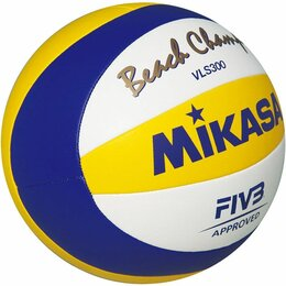 Мячи - Мяч для пляжного волейбола Mikasa VLS300 Beach Champ, 0