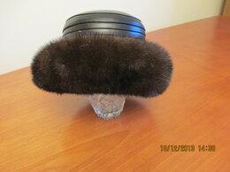 Головные уборы - продается шляпа норка /кожа, 0