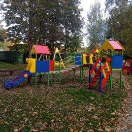 Игровые и спортивные комплексы и горки - Дворовые детские площадки, 0