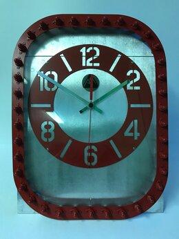 Часы настольные и каминные - Брутальные настольные часы из фюзеляжа самолёта…, 0