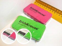 Тряпки, щетки, губки - Губка д/доски  с магнит ЕК 44807, 0