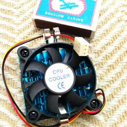 Кулеры и системы охлаждения - Кулер на чипсет, процессор, новый, маленький, 0