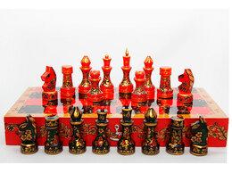 Настольные игры - Шахматы Хохлома. Золотая осень , 0