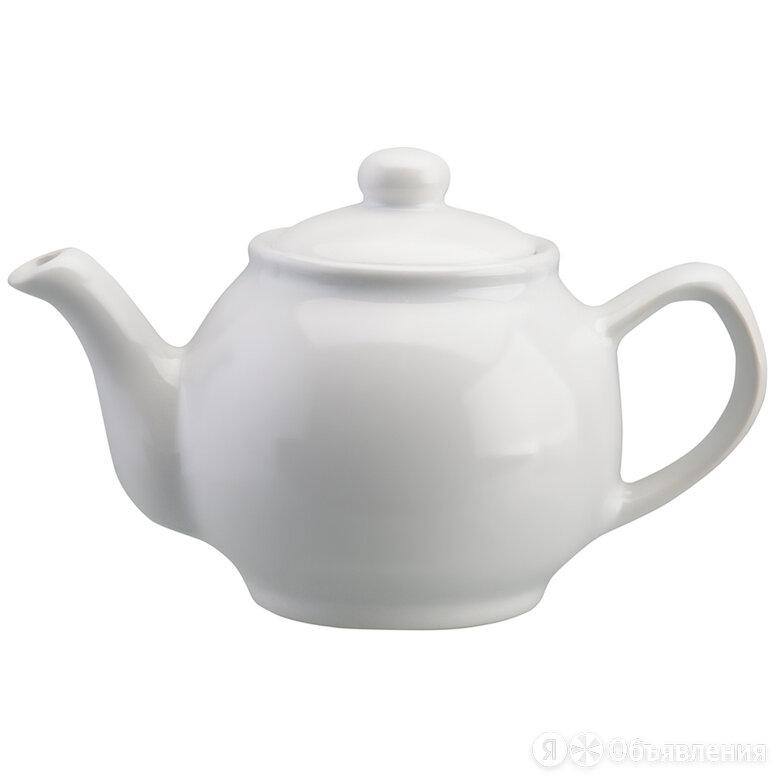 Чайник керамический заварочный 450 мл белый Classic Tones по цене 1100₽ - Кувшины и графины, фото 0
