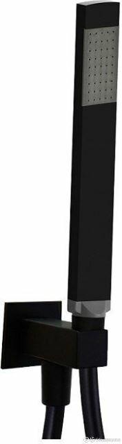 Ручной душ Paffoni ZDUP095NO чёрный матовый по цене 13630₽ - Души и душевые кабины, фото 0