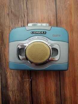 Музыкальные центры,  магнитофоны, магнитолы - Кассетный плеер Congli CL-5210 , 0