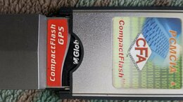 GPS-трекеры - GPS приёмник GlobalSat BC-337 (Compact Flash)+…, 0