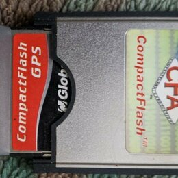 GPS-трекеры - GPS приёмник GlobalSat BC-337 (Compact Flash)+ PCMCIA переходник, 0