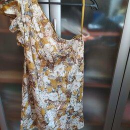 Платья - платье 46 р 100% хлопок, 0